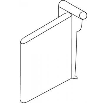 Séparateur latéral pour tiroirs double paroi Ouvéa II