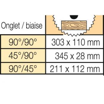 Scie à onglet radiale sans fil - DHS 780