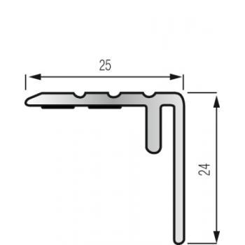 Nez de marche adaptable pour parquets et stratifiés