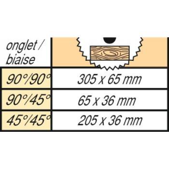Scie à onglets radiale - KGSV 216 M