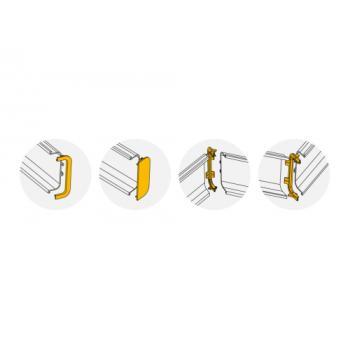 Kit de jonctions pour profil horizontal ou supérieur Gola-E