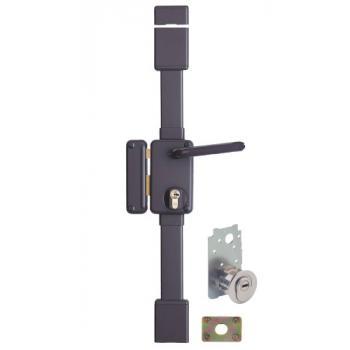 Serrures de haute sûreté en applique verticales 3 points à cylindre européen A2P*- BELUGA CP