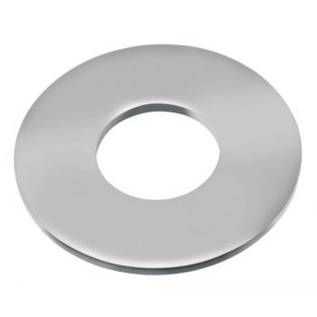 Rondelles plates série large Lu inox A4