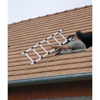 Échelle de toit avec crochet de faitage Klipeo