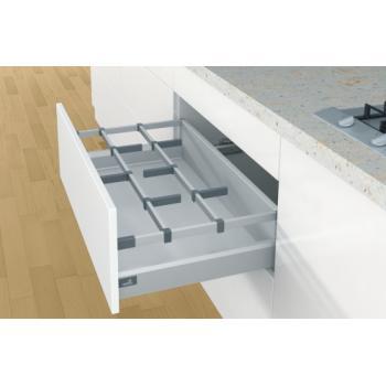OrgaStore 400 - Support adaptateur pour tringle transversale - pour tiroirs casseroliers ArciTech