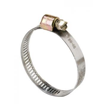 Colliers de serrage acier W1 bande ajourée 5 mm