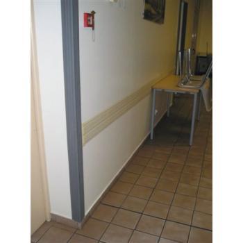 Protections d'angle en caoutchouc Angl'isol® - à alvéoles plates - usage intérieur et extérieur