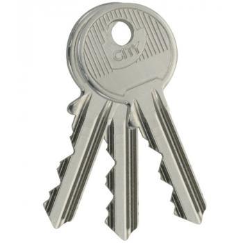 Kit de 3 clés City 5G sur numéro KCF 005502