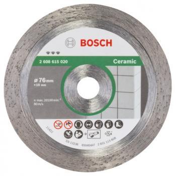 Disque matériaux dur, céramique Ø 76 mm pour meuleuse GWS 12-76 V EC