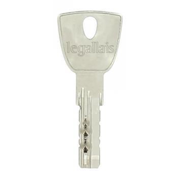 Cylindres doubles à bouton profil européen type Frégate avec 5 clés réversibles protégées par copyright