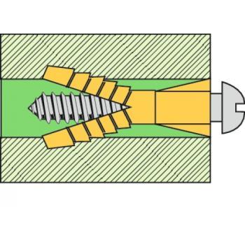 Chevilles polyéthylène sans collerette