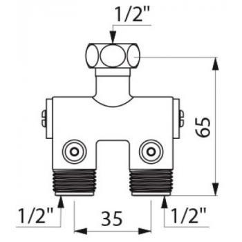 Prémélangeur Compact pour lavabo