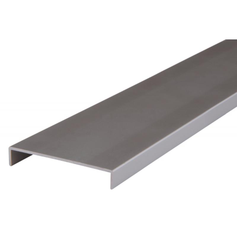 7,6/cm salle de bain Armoires portes Boulon de corps en aluminium 75/mm