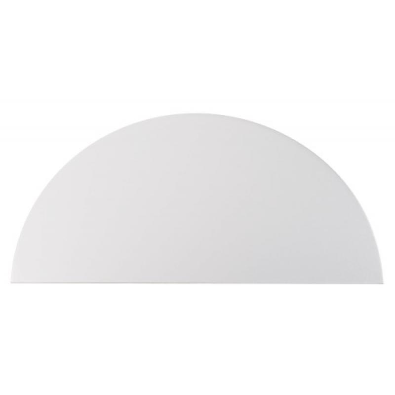 plaque de propret demi lune adh sive aluminium legallais. Black Bedroom Furniture Sets. Home Design Ideas