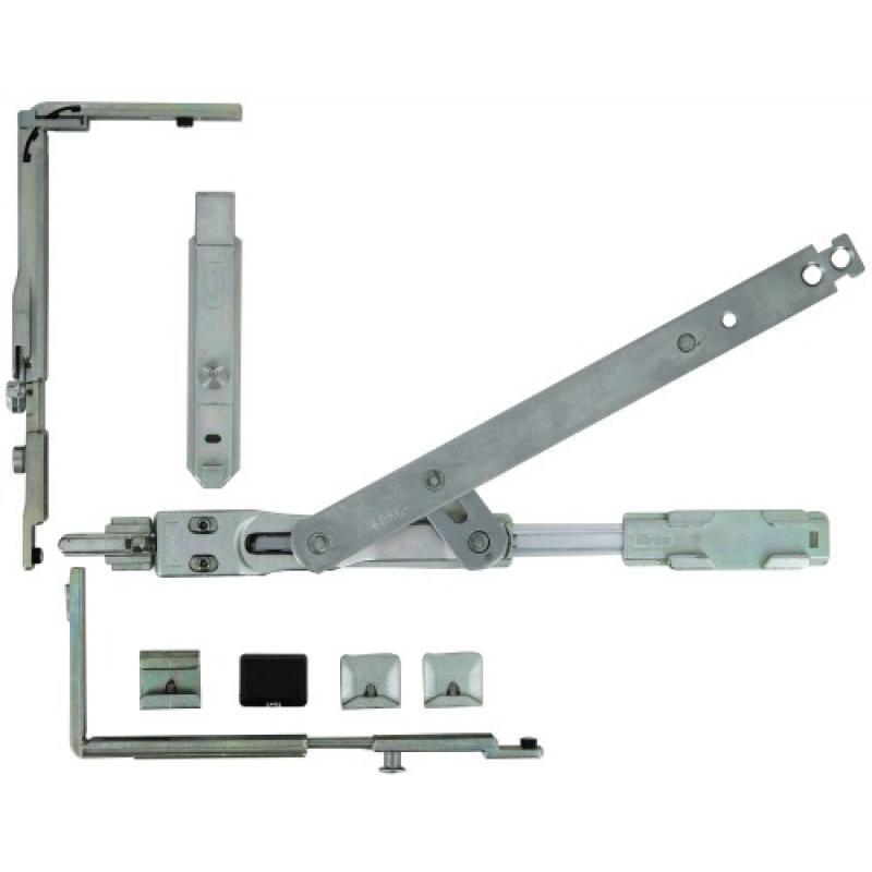 Kit De Base Complet 1 Vantail 1483 Pour Chassis Oscillo Battant Aluminium Galiplus Inverse Legallais