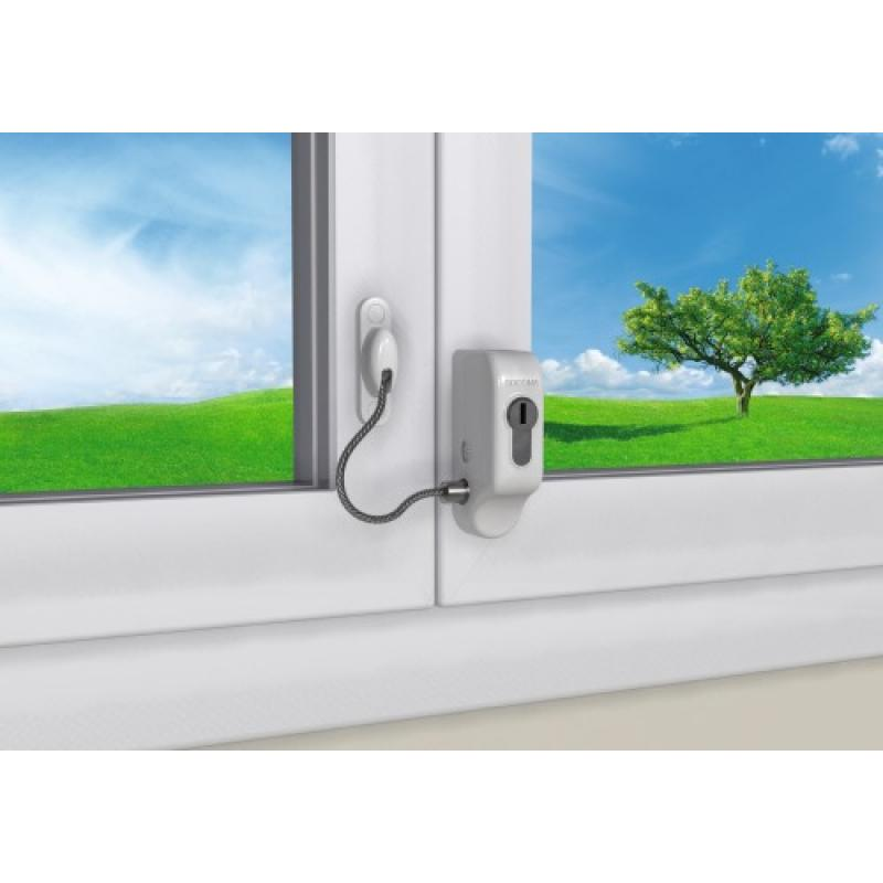 Entrebâilleur De Fenêtre à Câble à Cylindre Européen Pour Fenêtre