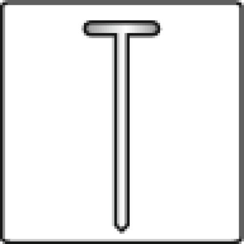 Agrafeuse T50 RED pour agrafes T50 6, 8, 10, 12,14, et clous 15 mm