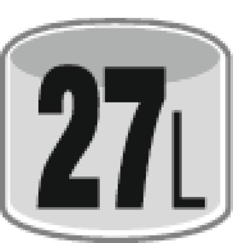 Aspirateur cuve acier inoxydable NT 27/1 Me
