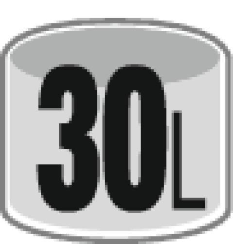 Aspirateur eau et poussières cuve polypropylène NT 30/1 AP
