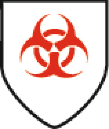 Gants hydrocarbure PVC étanche rouge REDGRIP