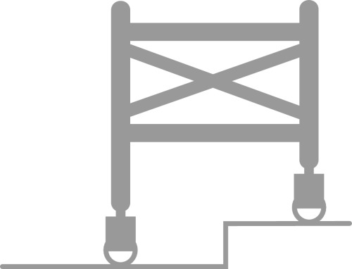 Echafaudages roulants aluminium Totem 2 Line 250