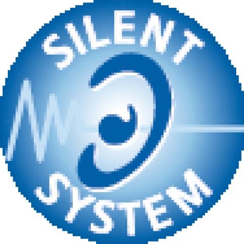 Tiroir simple hauteur 70 mm - complet - avec coulisses Silent System 30 kg - argent