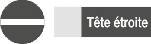 Composition de 6 tournevis bi-matière - fente, phillips - TAHITI
