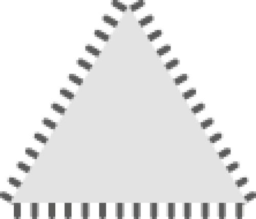 Lime d'affûtage tiers-points angles ronds sans manche