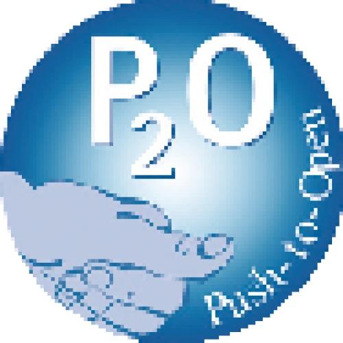 Butée Push to open Pin avec adaptateur à visser - course longue