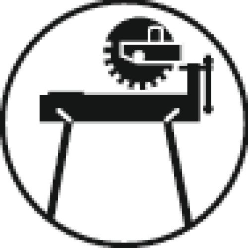 Disque à tronçonner métaux inox moyeu plat Basic