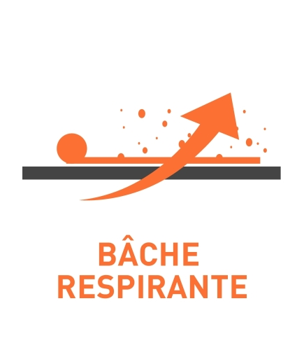 Bâche de protection universelle réutilisable POLYPROTEC