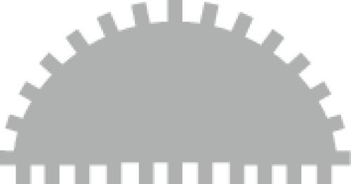 Râpes demi-rondes avec manche bi-matière 941